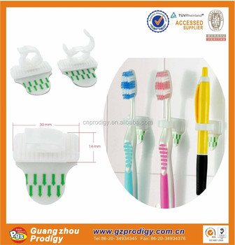 Plastic Clip With Adhesive Pen Clips Strong Plastic Snap Hook Wall