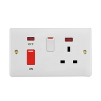 2019 Hot Sales UK Standard 45A Cooker Unit Wall Socket