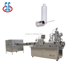 SGPWJ Medical Collagen high speed bottle washing,drying, Spray filling and stoppering machines production line