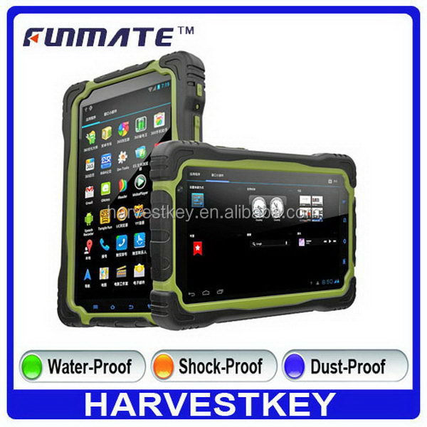 Alibaba china new coming T70 7 inch IP68 Waterproof for android windows tablet rugged