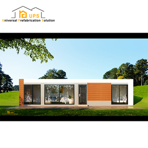Low cost prefab house container in China
