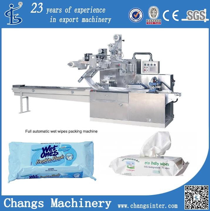 Dwb Series Auto Sachet Baby Wet Wipes Packaging Machine ...
