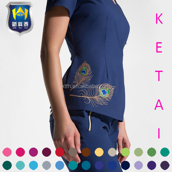 f5cb50da9f6f16 Beste Verkauf Berufsbekleidung Damen Schönheit Arbeitskleidung Kleidung  Salon Spa Uniform