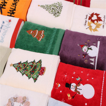 China OEM manufacture 100%cotton christmas wholesale kitchen towel