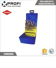 Full Ground Hss Cobalt 5% Twist Drill Bits For Stainless Steel DIN338