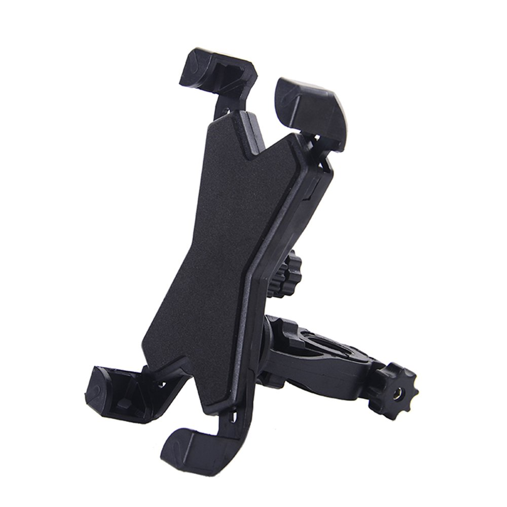 Bike Phone Mount Holder, WOTOW Universal Smart phone Adjustable Cradle Clamp 360 Degrees Rotatable Bicycle Handlebar Motorcycle Rack for 3.5-7 inch Cell Phone GPS iPhone Samsung Galaxy HTC
