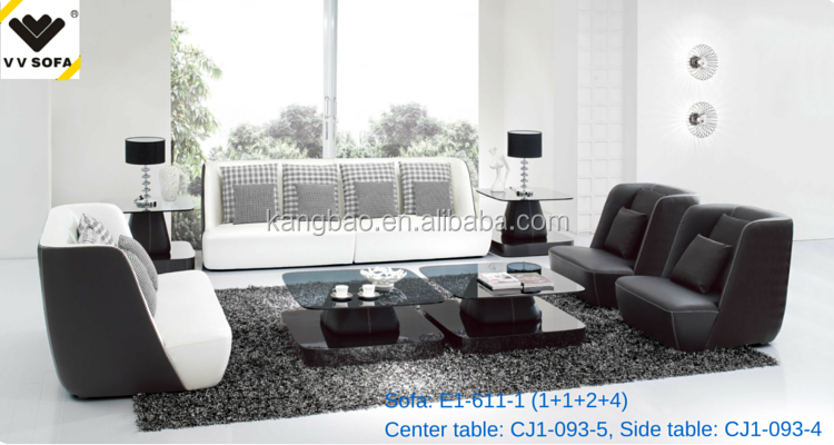 Hot Selling 8 Seater Sofa Set Black And White Leather Sofa Furniture Buy 8 Seater Sofa Set Black And White Leather Sofa Sofa Furniture Product On
