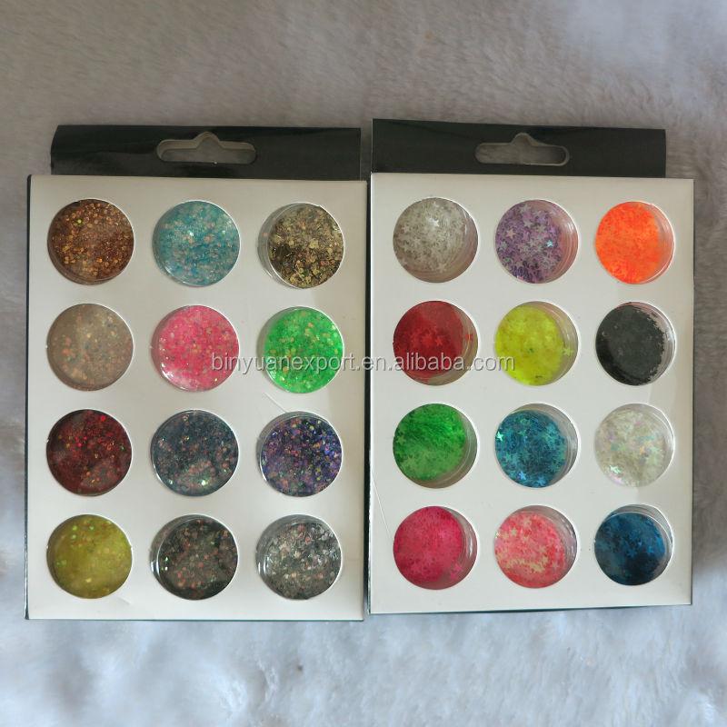 Nail Glitter Flakes Dazzling Powder - Buy Nail Glitter Flakes ...