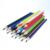 18pcs Wooden color pencil lapices colores matita pencil with paper tube set