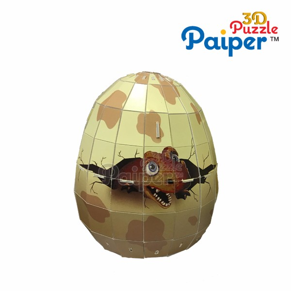 2016 New foam toy 3d puzzle roly poly egg