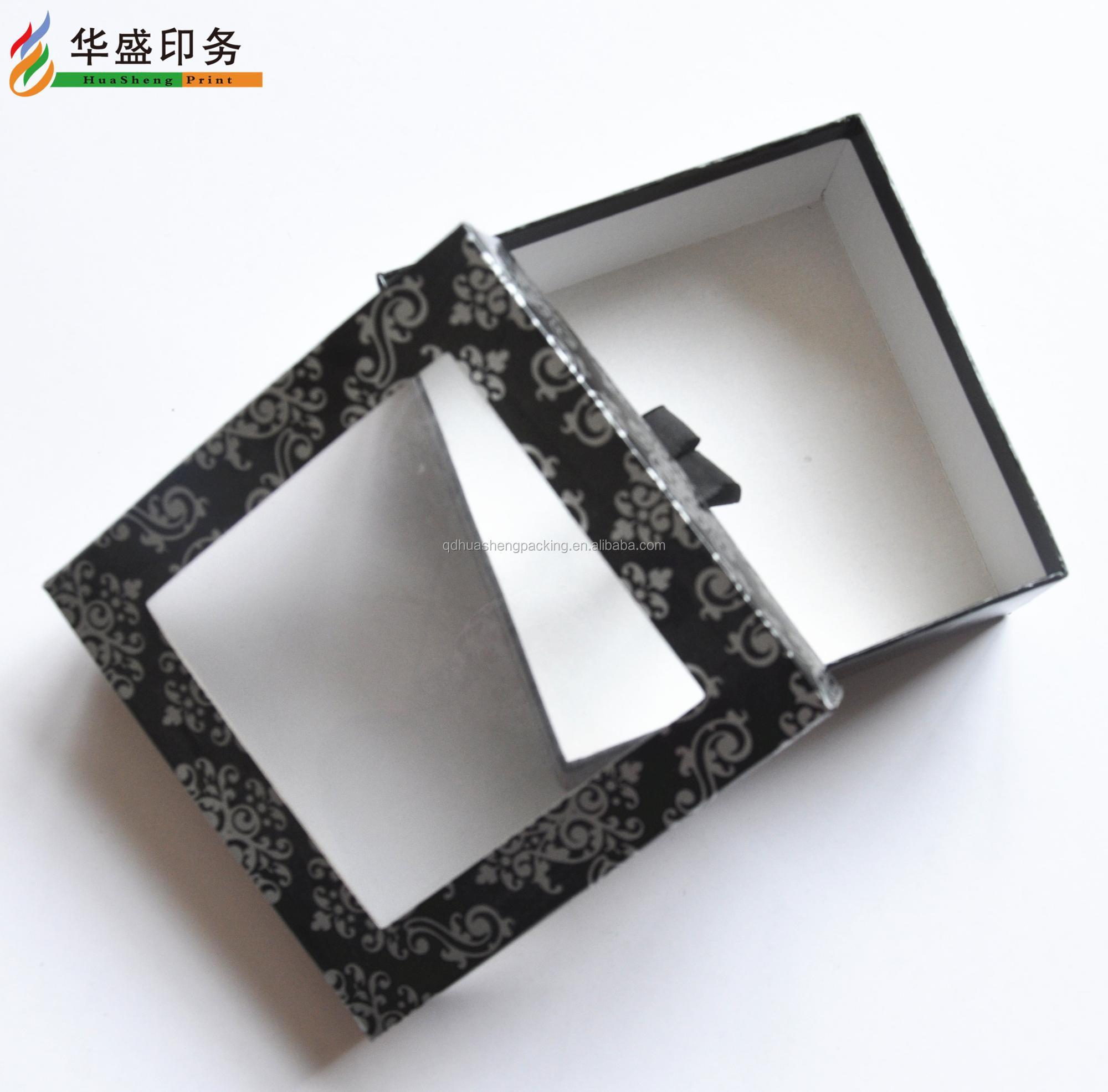 Bevorzugt 100% Fabrik Luxus Geschenkbox Durchsichtigen Karton Mit Pvc Klarer PQ56