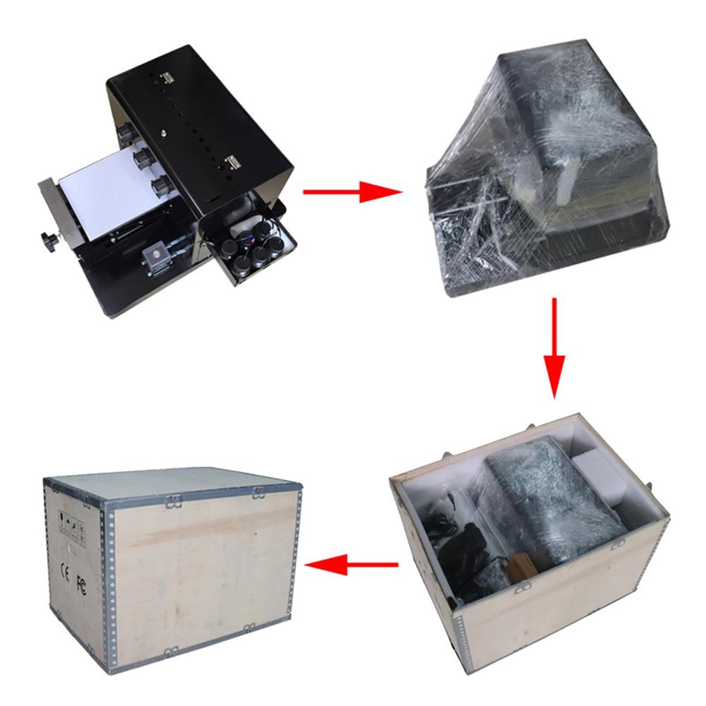Digitale flatbed mini uv printer a4