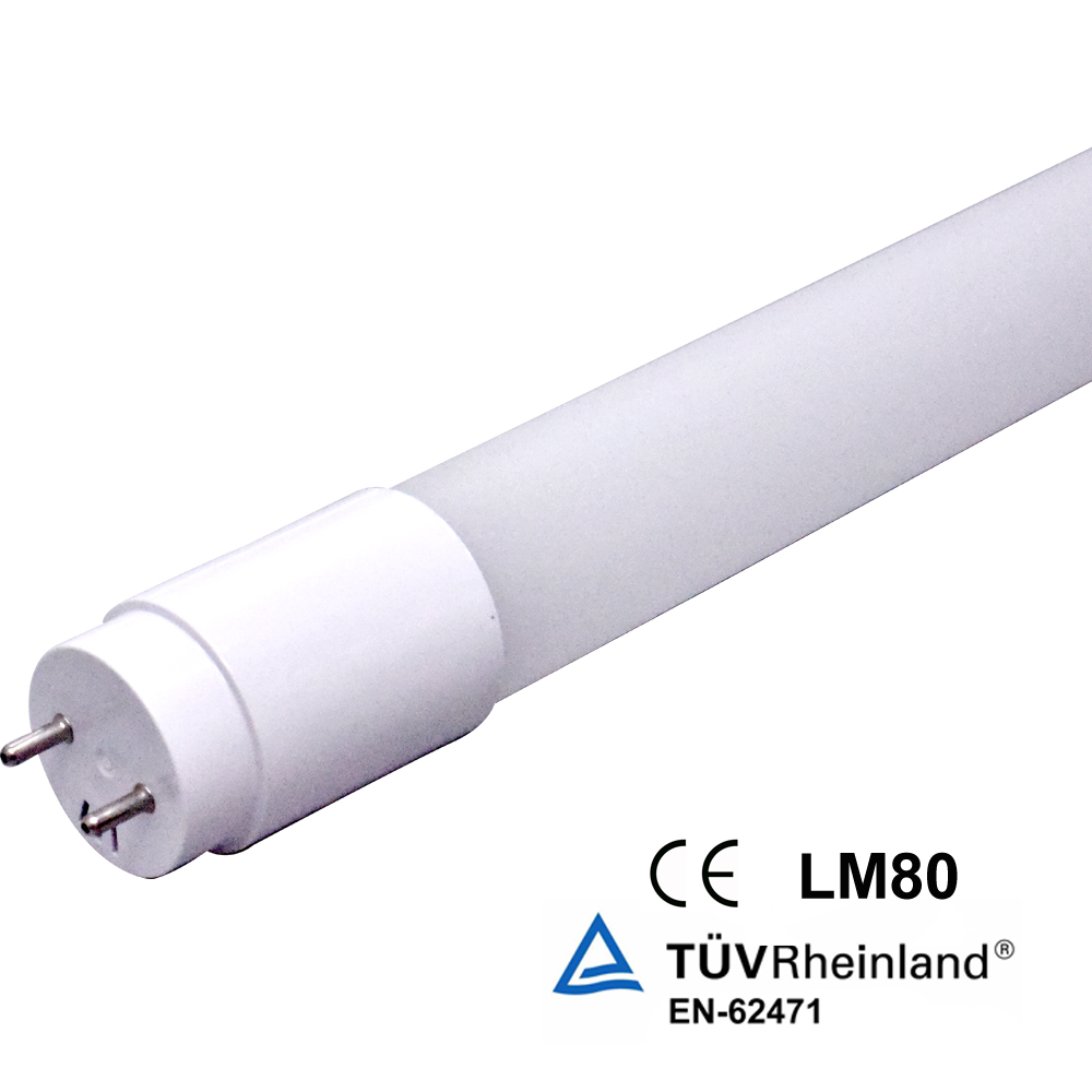 free sample hot sale 18W Nano plastic t8 led black light tube with CE ROHS