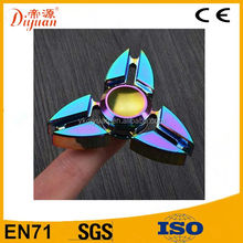 High Speed Running Stainless Steel Bearing ADHD Anxiety Relief Plastic Hand Spinner