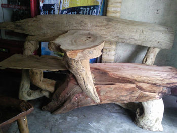 Molave And Driftwood Furniture Buy Bench Giant Sea Shells Product