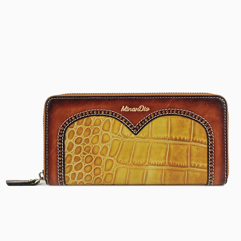 2016 Minandio Trendy Fashion Women Clutch Wallet Cheap Ladies Wallets And Purse