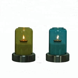 Riva Decorative Glass Oil Table Lamp for restaurant