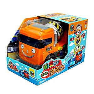 The Little Bus Tayo Talking Chris( Cement Mixer / Concrete mixer truck ) - friction powered car