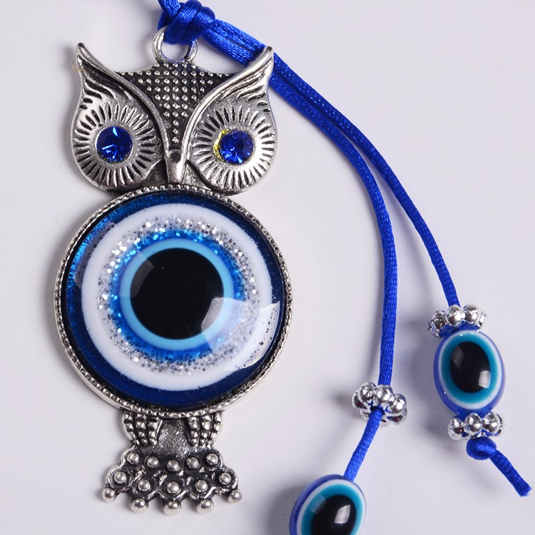 Factory handmade Wholesale Gifts Turkish evil  blue eye Nazar Beads Alloy Golden Bracelets and Bangles