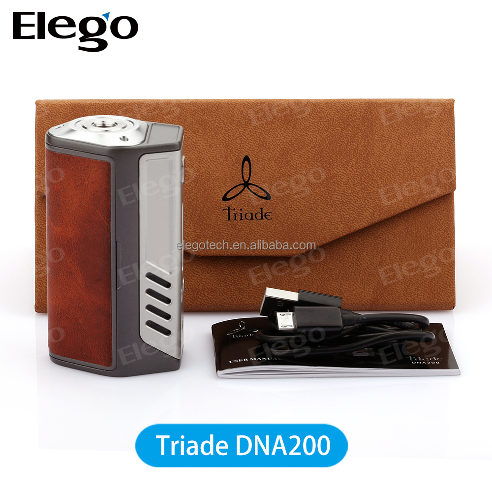 Crazy selling vapors favorite Lostvape Triade DNA 200 with 3*18650 Maximum 200W output Therion DNA75W in stock