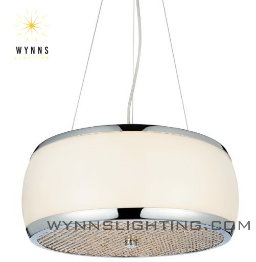 <strong>Modern</strong> and luxury opal glass pendent lamp