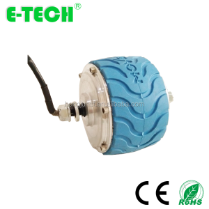 Hongjun 4 Inch DC 24V 36V 200W Brushless Geared Wheel Hub Motor