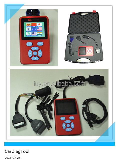 OBD heavy duty truck scanner 24V diagnostic scan tool Carworth C100 A