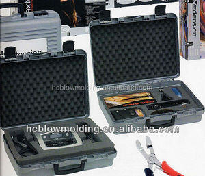OEM Blow Molding portable toolbox plastic HDPE briefcase toolbox Huizhou factory