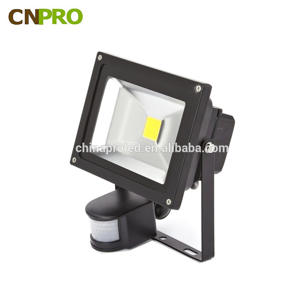 20w pir sensor led flood light outdoor ip65 for mining operations