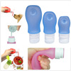 Food Grade Squeeze Silicone Liquid Bottle Perfume Refill Bottle&Pet Water Tube