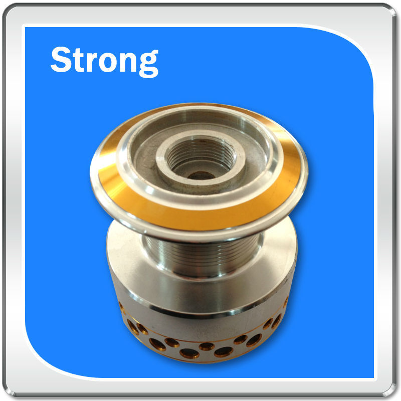 high quality aluminum OEM/ODM Metal Turnning Part golden anodized