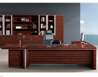 Hot sell modern boss manager office executive desk for office furniture