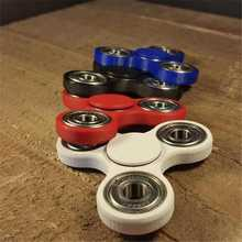 Haoqiang better quality Custom Bearing Fidget Spinner Toy titanium hand spinner rings