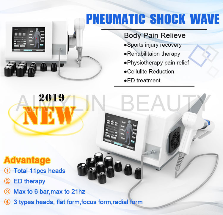 Smallest shockwave therapy device For Heel Pain/low intensity shock wave therapy