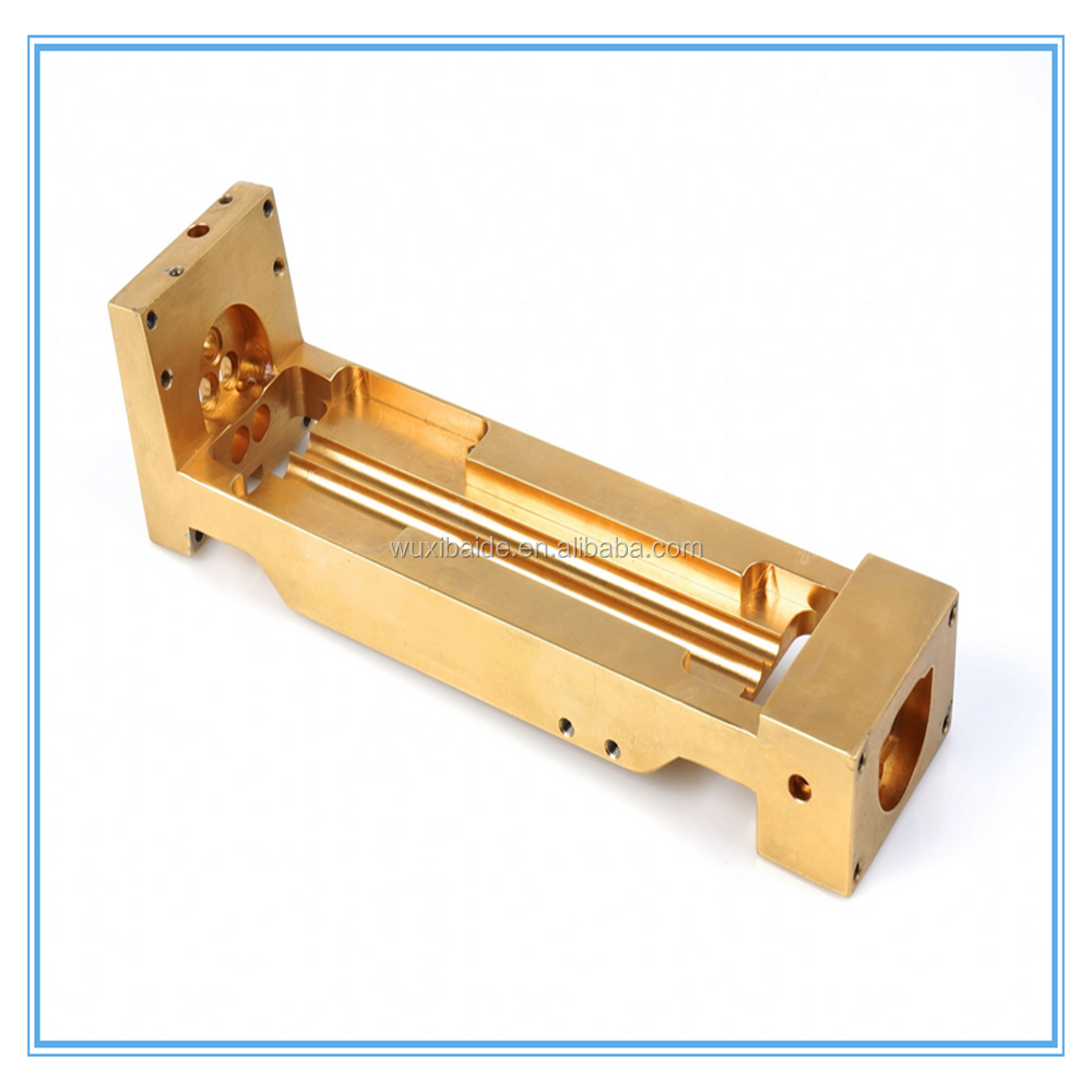 brass lathe machine custom machined precision cnc machining part