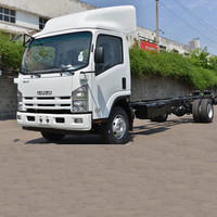 Brand ISUZU ELF truck and 4x2 cargo truck chassis for sale