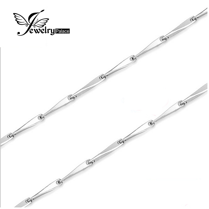 buy jewelrypalace new seed necklace chain wholesale price pure 925 solid. Black Bedroom Furniture Sets. Home Design Ideas