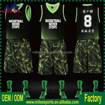 3cb160b98c0 Latest Best Sublimated Reversible Custom Basketball Jersey Design ...