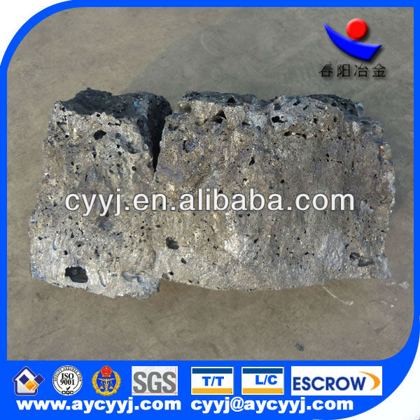 chinese supplier ferro low Calcium & Silicon for steelmaking