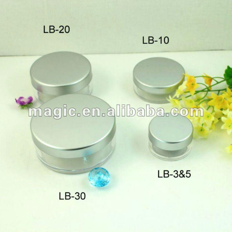 China Leveranciers 3g 5g 10g 20g 30g Losse Cosmetische Potten met Zeef