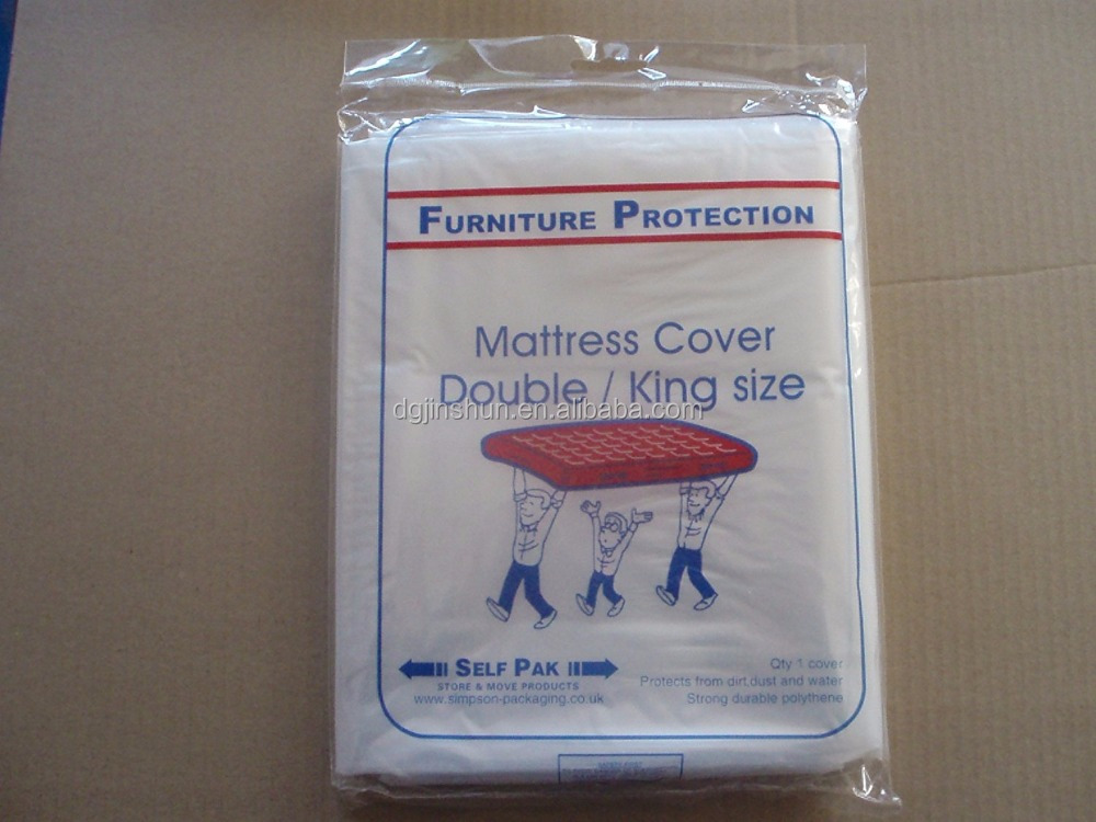 Large Strong Heavy Duty Plastic Polythene King Size Mattress Cover Dust Protector Removal Storage Bag - Buy Large Plastic Polythene BagPlastic Mattress Bag ... & Large Strong Heavy Duty Plastic Polythene King Size Mattress Cover ...