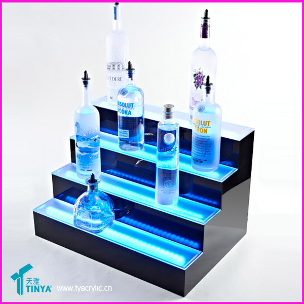 China Factory 2016 Lighted Liquor Bottle Display Stand,Bar Led ...