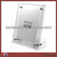 Clear Acrylic Picture Display,Perspex Photo Frame,Lucite Photo Album