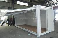 Multi function easy installation 20ft sandwich panel container house