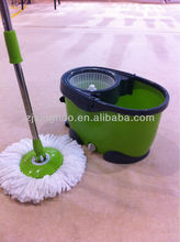 360 Degree Spinning Mop 2 X Head Make Mopping Go Easy With Rotation Spin Dry FLOOR CLEANER MOP WIPE HEPA BAGLESS