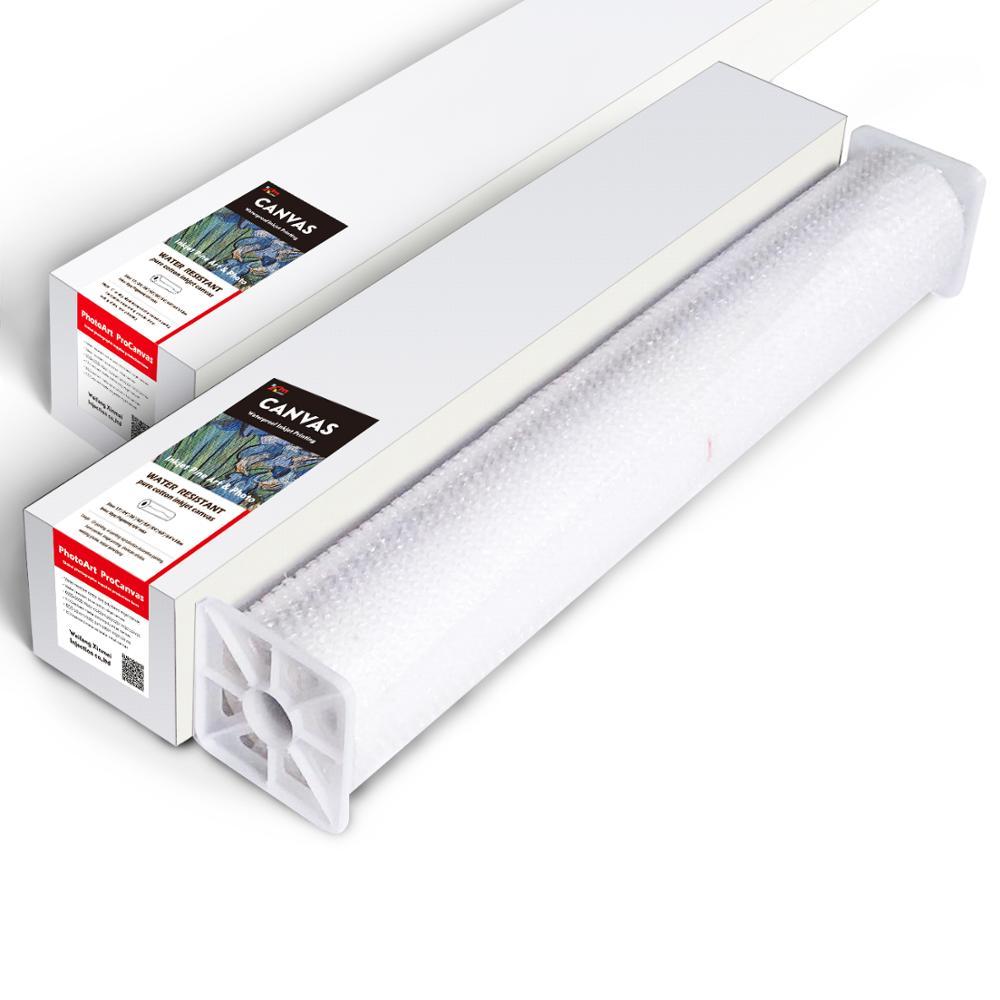 100% cotton canvas printing Inkjet waterproof canvas roll