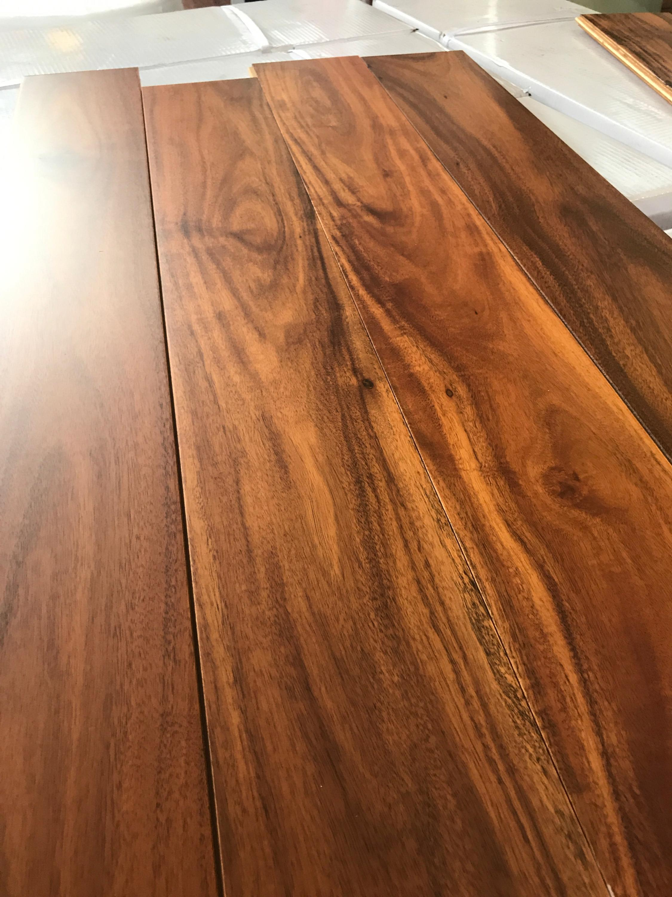 Prefinished Golden Acacia Engineered