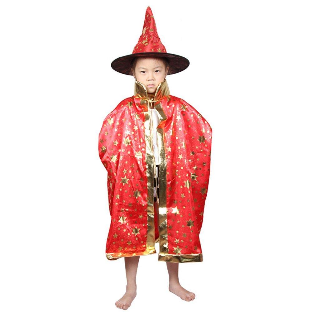 Halloween Cloak/children's clothing/Magician cloak/Child witch/Cloak cloak cap-B