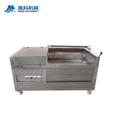 Potato carrot brush roller abrasive sand roller peeling machine