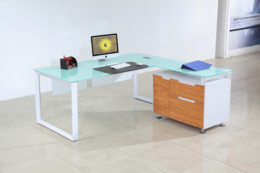 modern furniture china glass top office desk buy modern Glass Desks for Home Office Modern Built in Desk Ideas